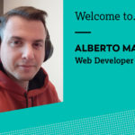 Welcome Alberto, our new web developer