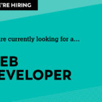 Looking for another web developer to join our team