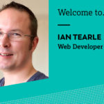 Welcome Ian, our new web developer