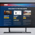 New Doe Show website built in under seven weeks